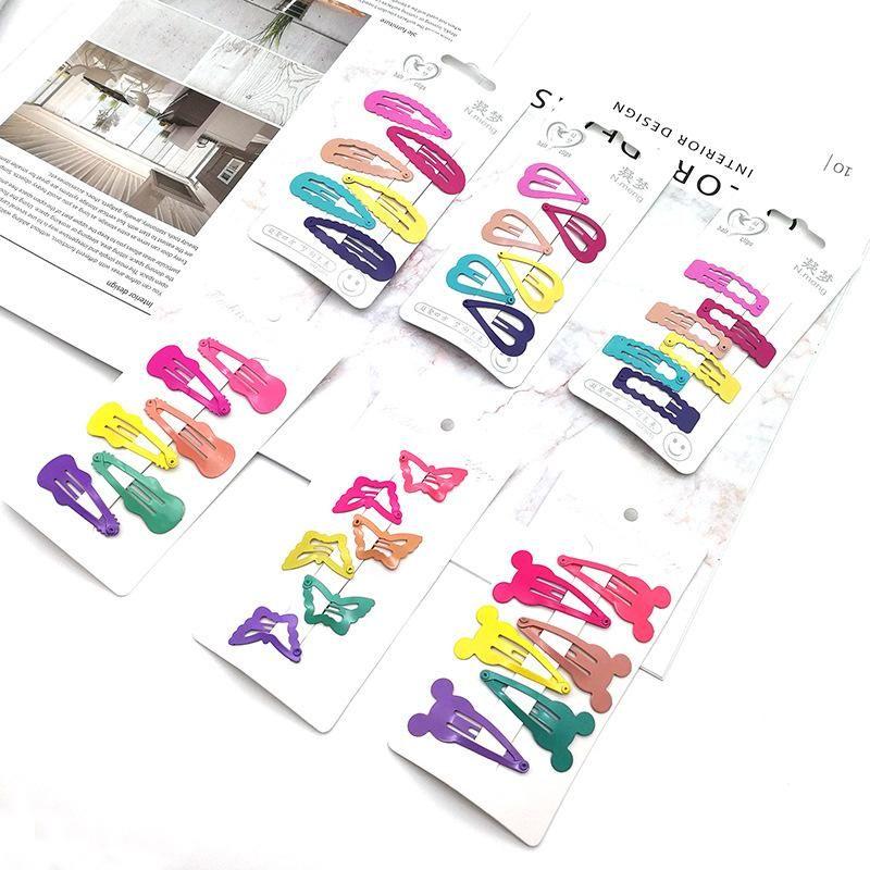 Korean sweet cute candy color bb clip hair clip bangs hair clip children hair clip NHSA201221