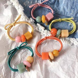Primavera coreana nueva caja acrílica salvaje doble capa de goma color caramelo diadema accesorios para el cabello tocado mujer NHHI201241's discount tags