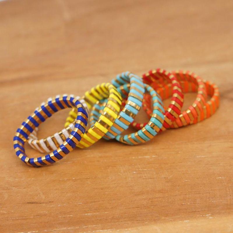 Fashion bohemian TILA beads hand-woven ring for women bracelet wholesales fashion NHGW201366