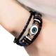 Fashionable Wild Leather Devil's Eye Multilayer Bracelet NHSC201827