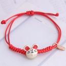 Korean fashion sweet red rope female bracelet NHSC201806