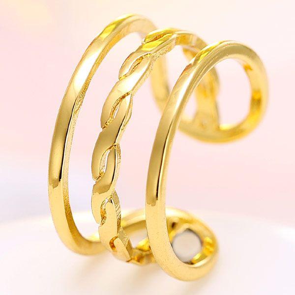 Korean fashion simple open ring NHSC201802