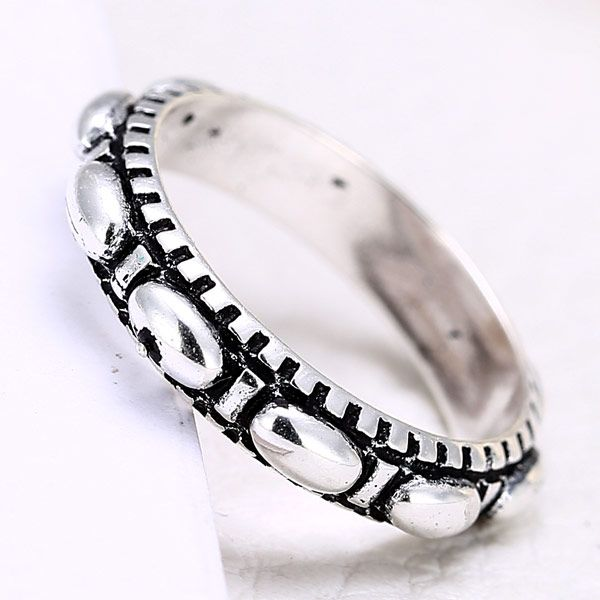New Fashion Metal Imitation Silver Ring NHSC201800