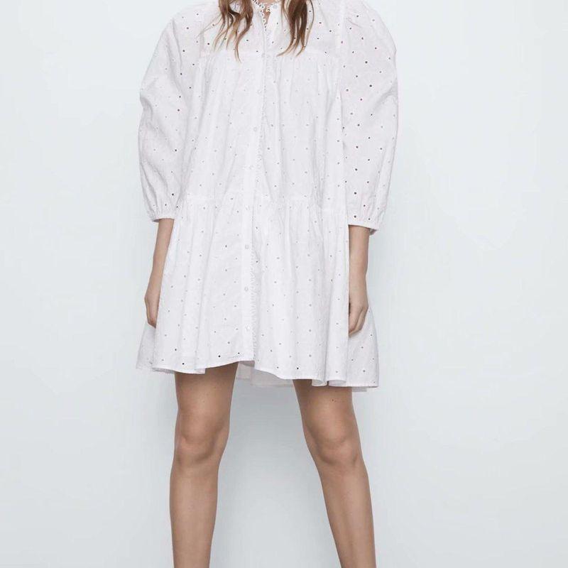 New Fashion Women Hollow Embroidered Dress Wholesale NHAM201464