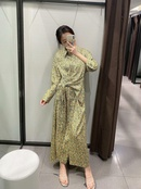 Wholesale Spring Flower Shirt Long Sleeve Dress NHAM201523