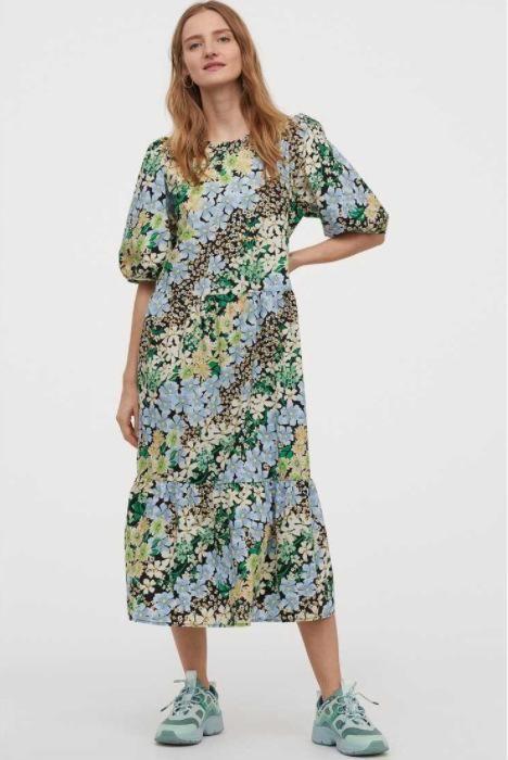 Fashion women 'dress Wholesale Spring Women's Puff Sleeve Dress NHAM201558