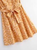Fashion women 39dress wholesale spring print vneck lace dress NHAM201568