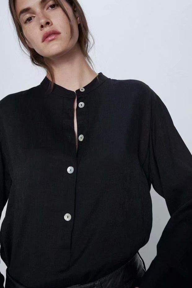 Fashion Wholesale Spring Collar Blouse NHAM201588