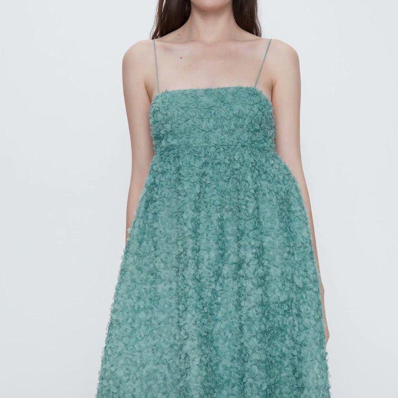 Fashion women 'dress spring textured sling sexy dress wholesale NHAM201602