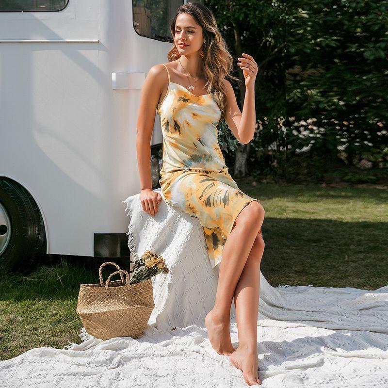 Casual Bohemian Sexy Strap Dress Wholesale Fashion Women NHDE201709
