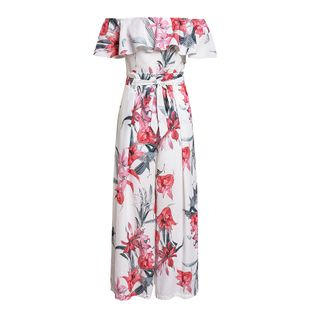 Sweet printed long dress wholesale fashion women's clothes NHDE201730's discount tags