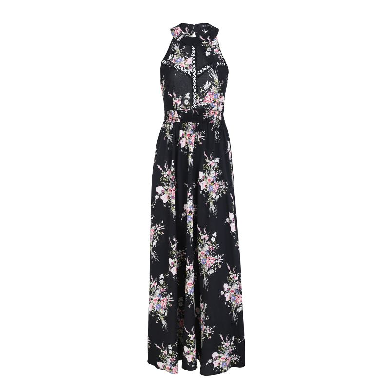Sweet Print Cute Long Dress Wholesale Fashion Women's Clothes NHDE201733