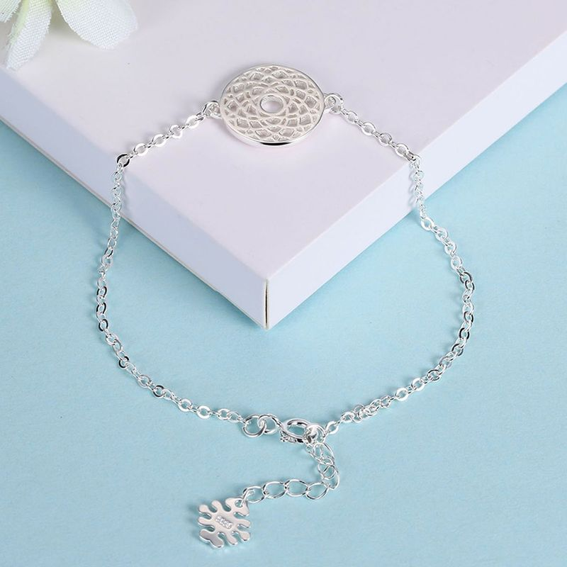 New fashion silver bracelet NHKL201749