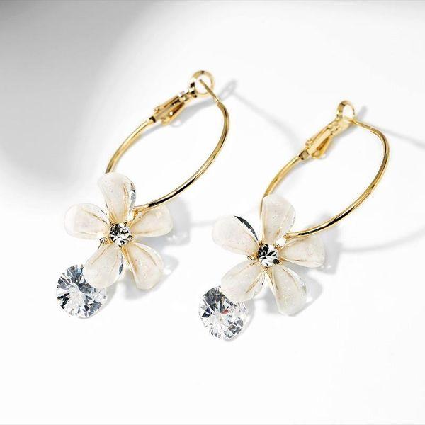 Fashion women's earring925 silver stud earrings flowers fresh earrings  women NHPP201913