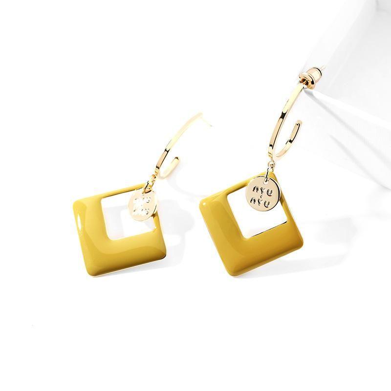 925 silver pin fashion earrings female new wave fresh elegant elegant creative earrings NHPP201919