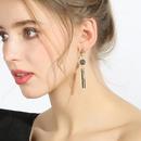 Earrings long female 925 silver needle Korean tide exaggerated tassel earrings Korean earrings pendant NHPP201920