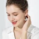 925 silver pin French fashion earrings new tide long simple earrings female NHPP201922