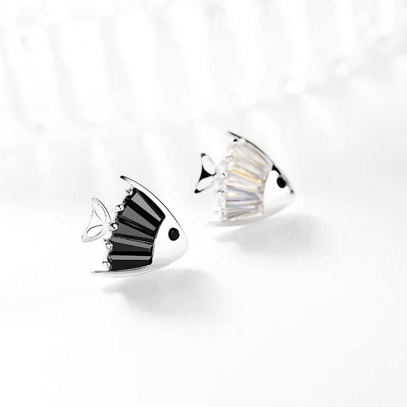 Fashion women's earring925 silver needle fashion new goldfish cute earrings women NHPP201924