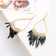 Fashion jewelry Korean fashion LO bead curtain earrings NHSC202444