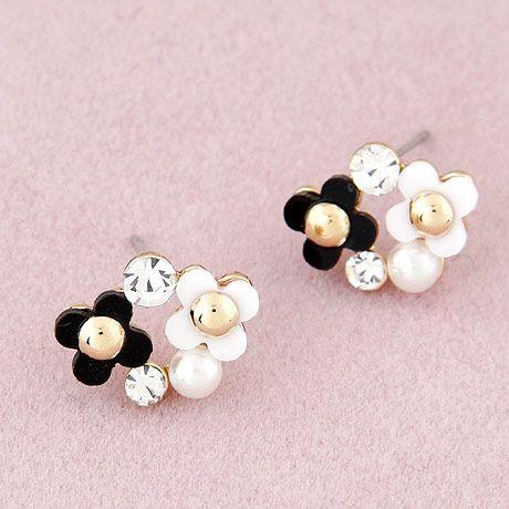 Fashion jewelry Korean fashion sweet earrings NHSC202441