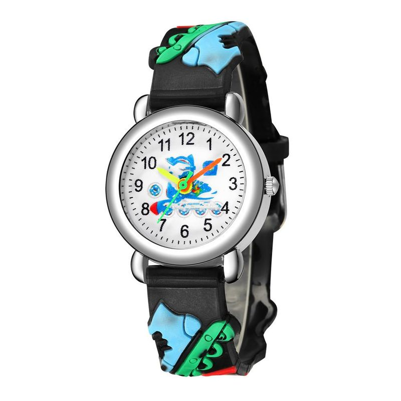 Cute roller skate pattern plastic band quartz watch boy and girl watch wholesale NHSY202009