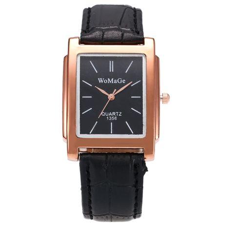 Moda hombres y mujeres cinturón cuadrado reloj de cuarzo reloj de hombre casual de negocios al por mayor NHSY202019's discount tags