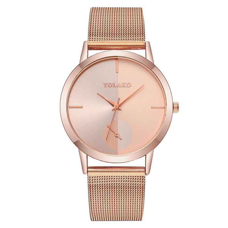 New ultra-thin women's alloy mesh belt watch fashion temperament wild quartz mesh belt watch female watch NHSY202024