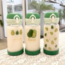 Cute avocado bullet cover glass simple water cup wholesales fashion NHtn202073