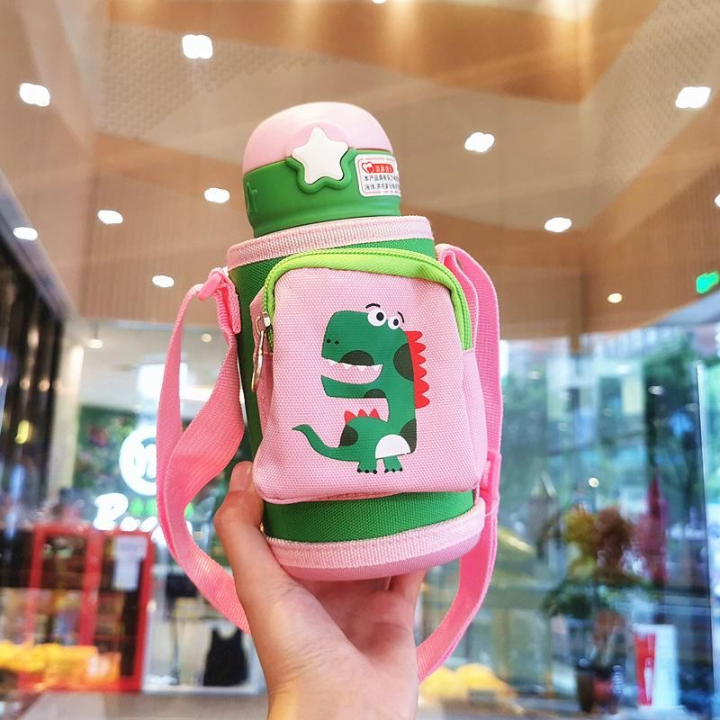 Insulated cup children portable out of the kettle kindergarten 316 stainless steel cup elementary school cute cartoon drinking cup NHtn202077