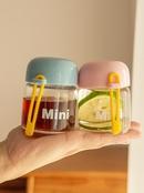 Petit et mignon verre coren portable mini tasse d39eau tasse  main simple petite tasse NHtn202078