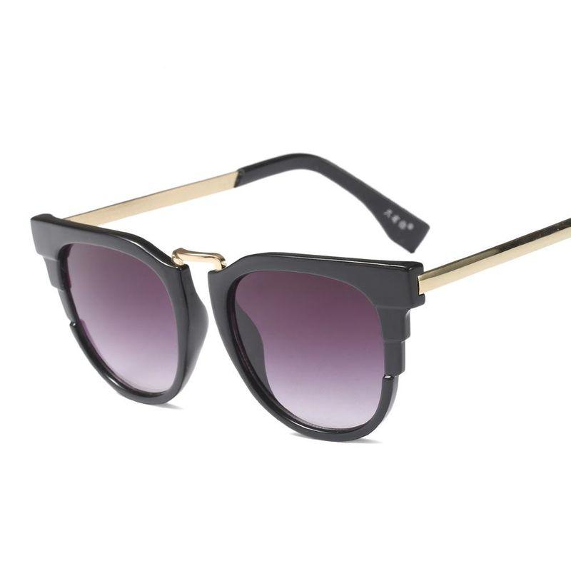 New Metal Sunglasses Fashion Kids Sunglasses Wild Kids Glasses NHFY202127