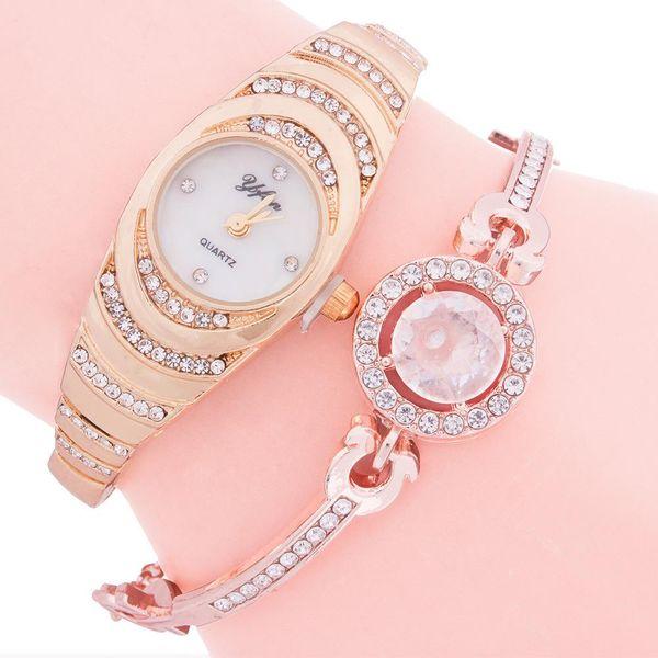 Fashion watch new diamond women's watch steel strap watch wholesale NHMM202157