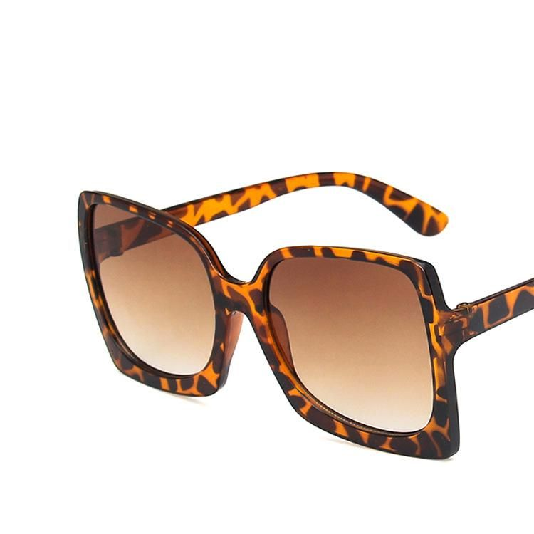 Large frame square sunglasses new trendy retro sunglasses fashion sunglasses NHKD202122