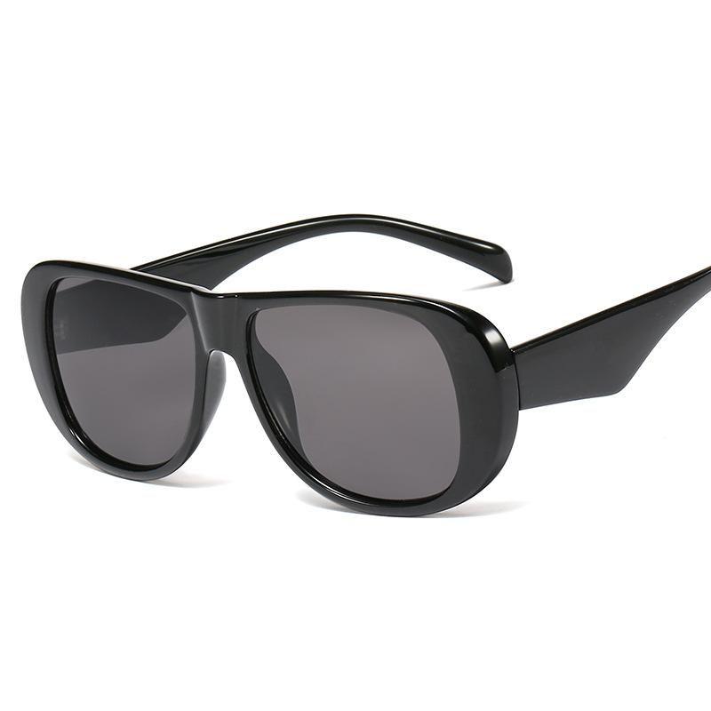 New ladies sunglasses trend oval frame hinge sunglasses sunglasses fashion glasses wholesale NHFY202138