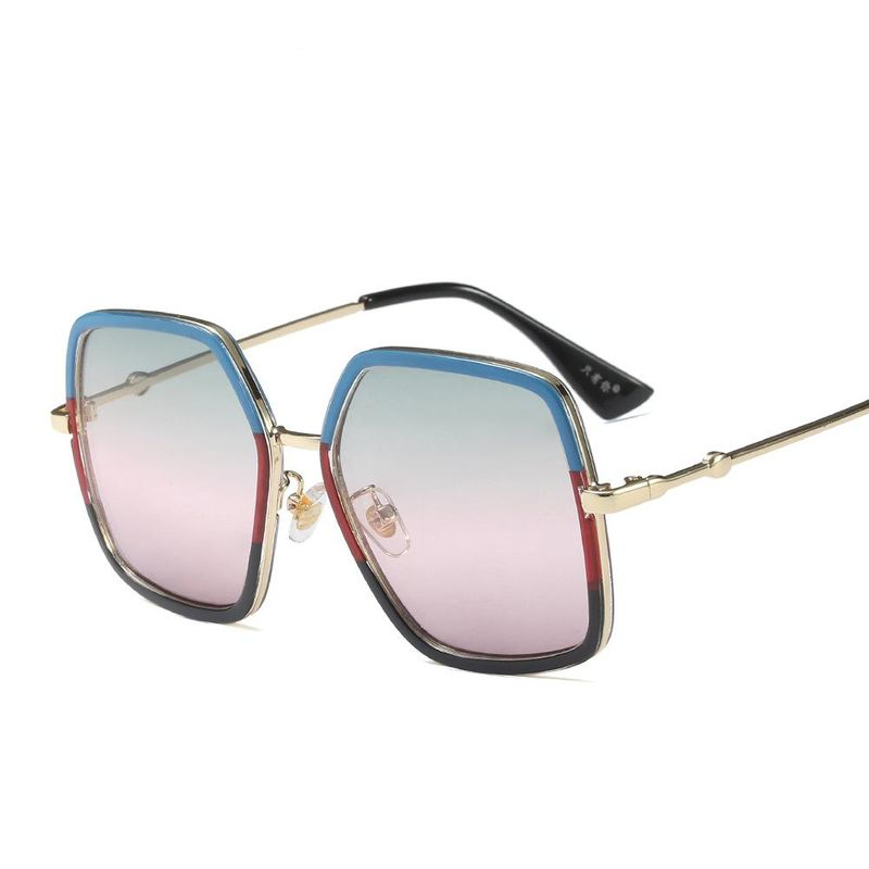 Fashion large frame children sunglasses high quality children sunglasses NHFY202133