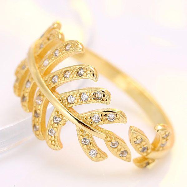 Fashion jewelry Korean Fashion OL Inlaid Zircon Open Ring NHSC202435
