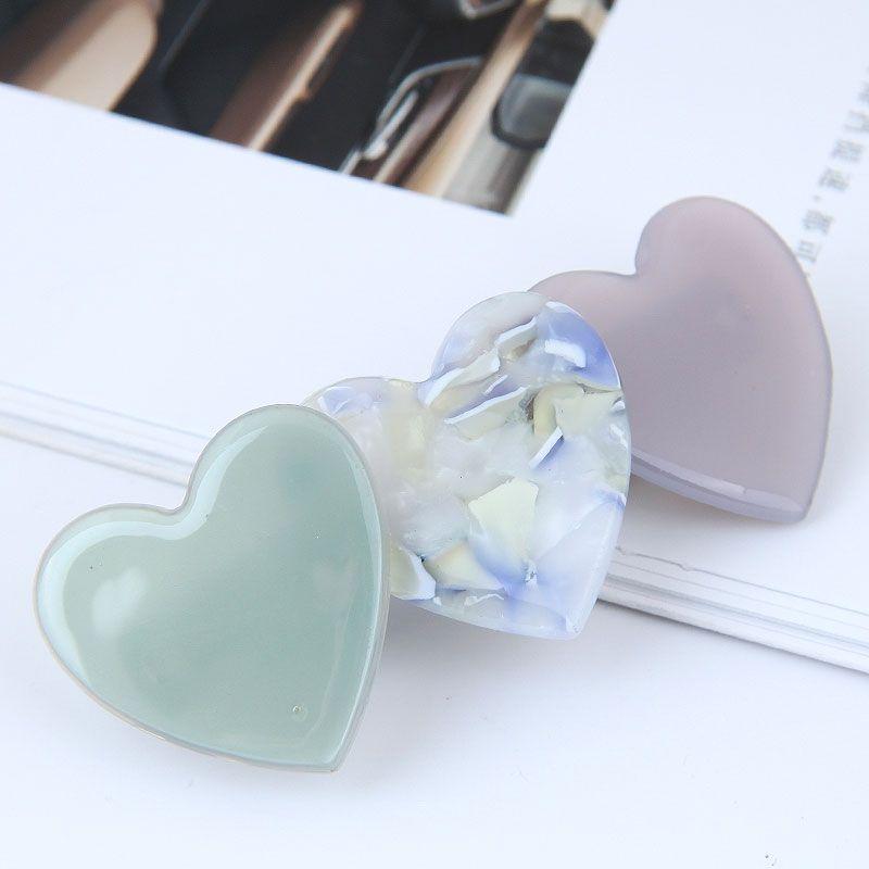 Korean fashion sweet classic wild elegant love hair clip top clip word clip edge clip NHSC202429