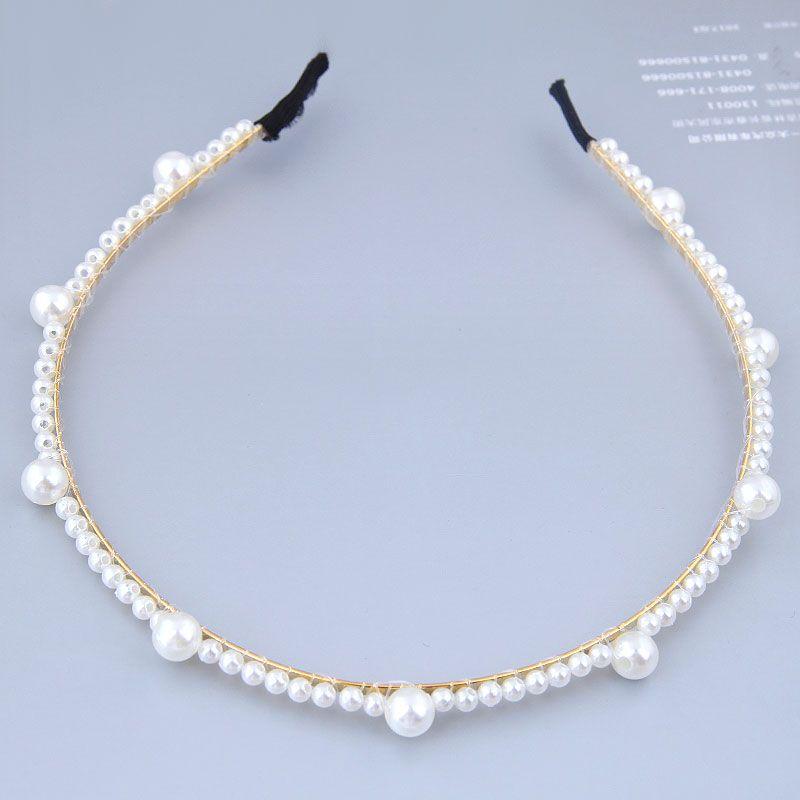 Korean fashion sweet and elegant pearl personalized headband hair hoop hair accessories NHSC202427