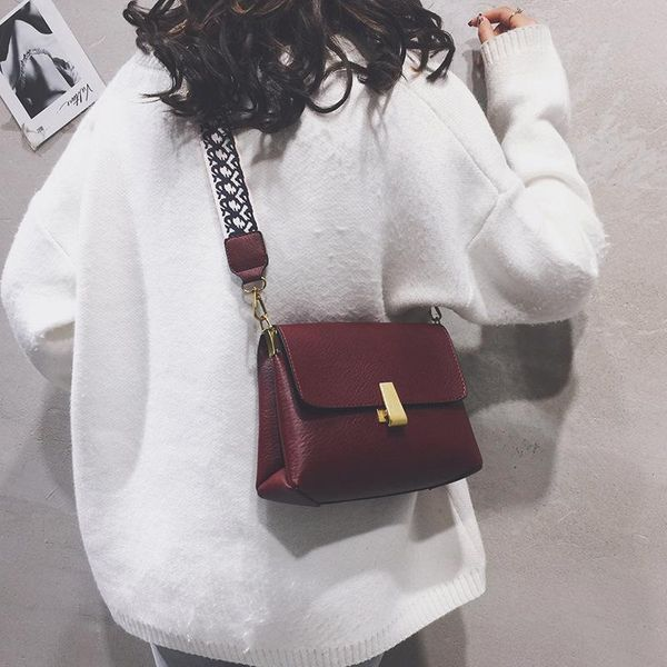 Ladies Shoulder Bag New Retro Broadband Children Bag Messenger Bag Women Fashion suppliers china NHTC202252
