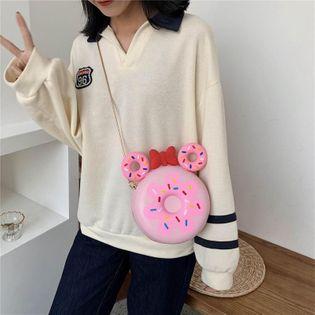 Women's Bags New Korean Fashion Cute cheap Chain Messenger Bag Shoulder Small Round Bag NHTC202263