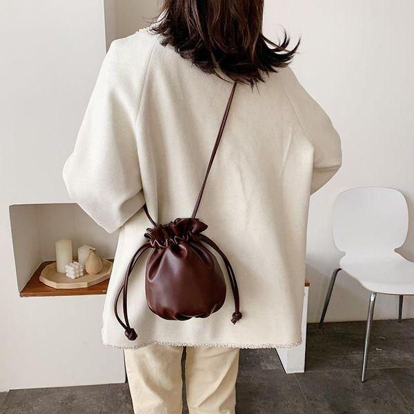 Mini Bags Women's New Korean Women's Bags Messenger Bags Casual Bags Fashion cheap Bucket Bags NHTC202269