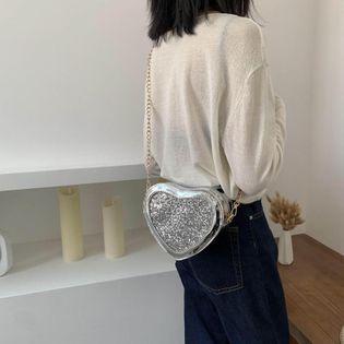 New Korean Fashion Messenger Bag Women's Single Shoulder Chain Love Bag yiwu wholesales NHTC202272