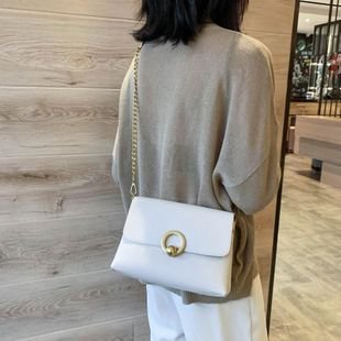 Women's new fashion shoulder messenger bag chain small square bag wholesales yiwu NHTC202311's discount tags