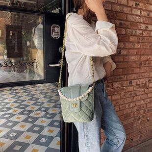Bags Women Bags New Messenger Bags Fashion Diamond Chain Shoulder Bags Korean Bucket Bags NHTC202333's discount tags
