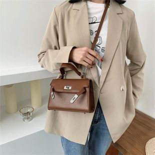 Spring and summer small bags women's new bag Kelly bag Korean shoulder bag fashion portable messenger bag suppliers china NHTC202375's discount tags