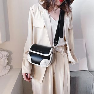 New bag for women Korean fashion simple wideband messenger bag shoulder saddle bag suppliers china NHTC202377's discount tags