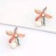 Fashion jewelry Korean fashion starfish stud earrings NHSC202421