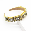 Baroque diamond color rhinestone threedimensional hair hoop gift hair accessory suppliers china NHWJ202550