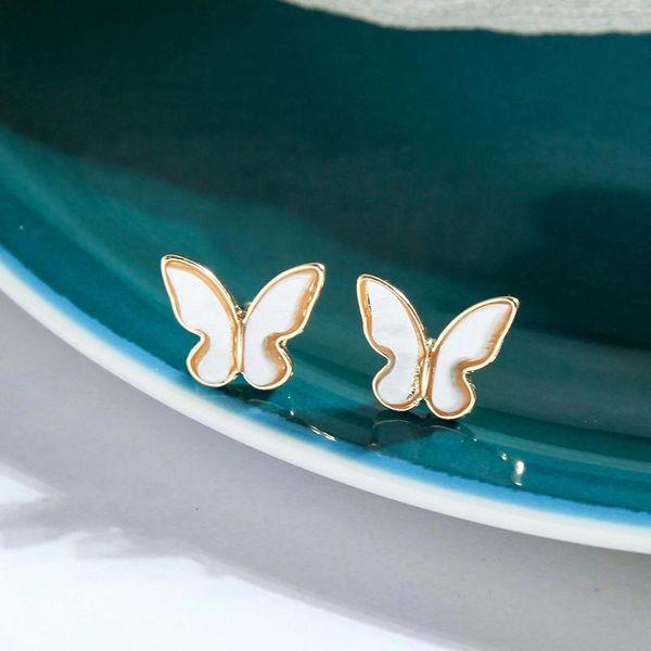 Fashion earrings for women simple wild shell earring butterfly earrings NHQD202583