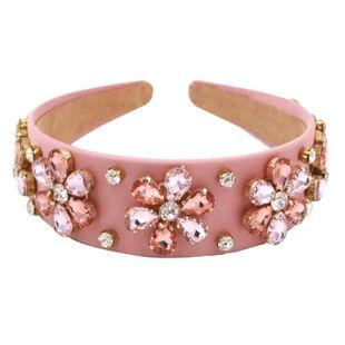 New luxury baroque fashion hair accessories headband sun flower headband suppliers china NHCO202652's discount tags